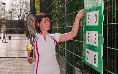 Match Pointer Tennis Scoreboards