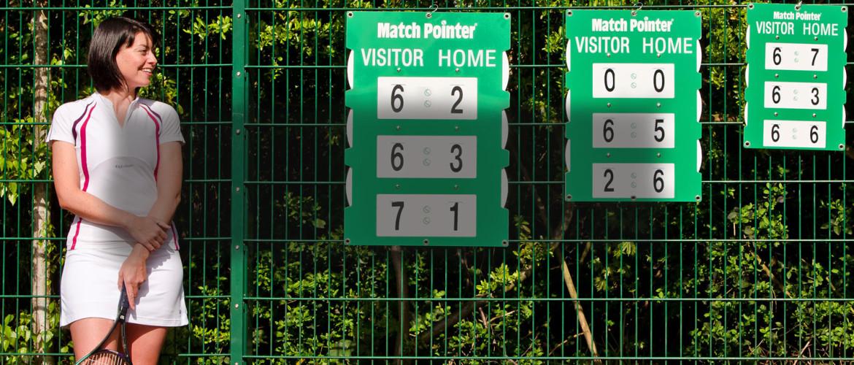 Portable Tennis Scoreboard